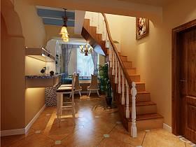 地中海吧台楼梯案例展示
