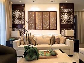 中式古典客厅设计案例