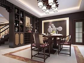 中式餐厅设计方案