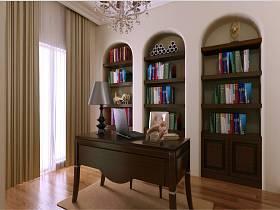 欧式欧式风格书房设计案例