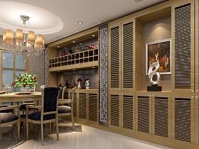 欧式欧式风格餐厅效果图
