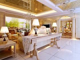 客厅沙发灯具设计案例