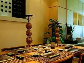 东南亚东南亚风格餐厅装修图