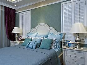 地中海地中海风格卧室装修案例