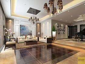 混搭混搭风格客厅背景墙沙发客厅沙发装修案例