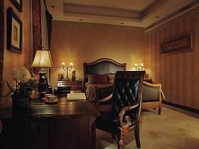 美式美式风格卧室别墅设计案例展示