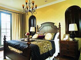 美式乡村风格卧室装修案例