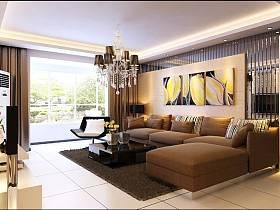现代现代风格客厅背景墙沙发客厅沙发图片