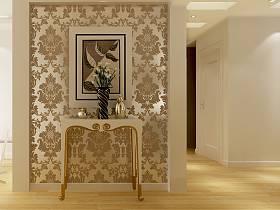 欧式玄关玄关柜设计案例展示