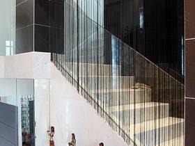 现代过道楼梯墙面图片