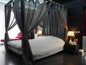 中式浪漫卧室效果图