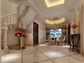 欧式欧式风格餐厅跃层设计案例展示