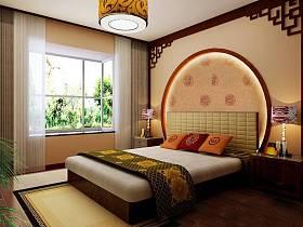 中式中式风格卧室40平米140平米图片