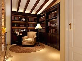 混搭书房吊顶图片