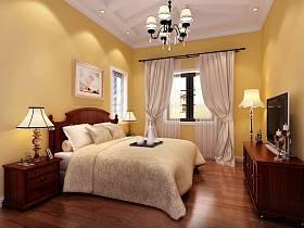 混搭卧室双拼别墅电视柜设计方案
