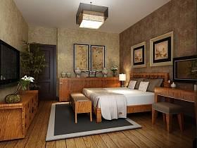 东南亚东南亚风格卧室吊顶图片