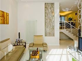 现代客厅别墅吊顶效果图