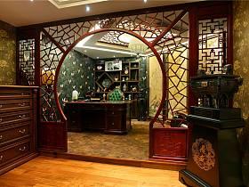 中式书房收纳设计方案