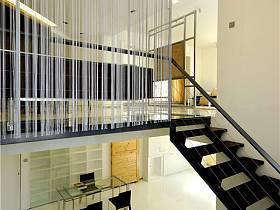 现代别墅过道设计方案