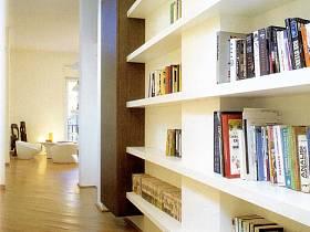 现代书柜效果图