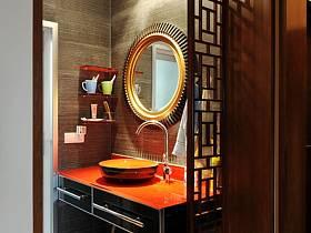 中式卫生间跃层设计方案
