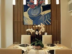 现代餐厅跃层设计图