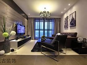 现代现代风格客厅电视背景墙电视墙案例展示