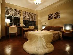 简约卧室跃层窗帘装修效果展示