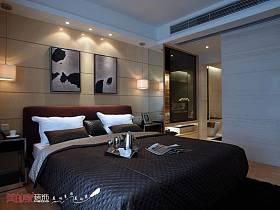 后现代卧室效果图