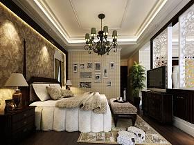 美式卧室电视柜设计图