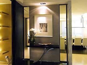 现代现代风格玄关玄关柜装修效果展示