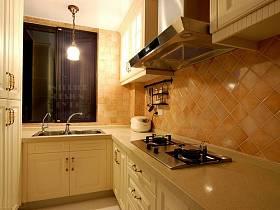 现代现代风格厨房装修图