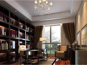 欧式欧式风格书房图片