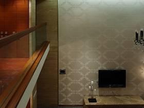 混搭混搭风格别墅背景墙电视背景墙效果图