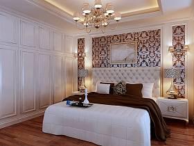 欧式卧室吊顶设计图