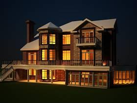 欧式外景别墅设计方案
