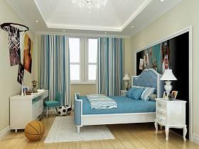 新古典古典新古典风格古典风格儿童房别墅吊顶设计方案