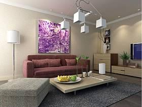 简约简约风格客厅装修效果展示