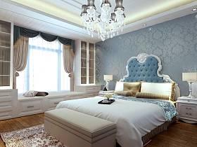 欧式简欧简欧风格卧室设计案例
