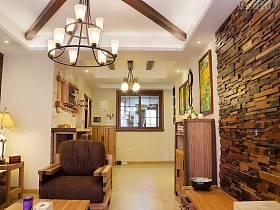 客厅吊顶储物柜设计案例
