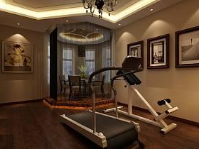 中式中式风格健身房装修效果展示
