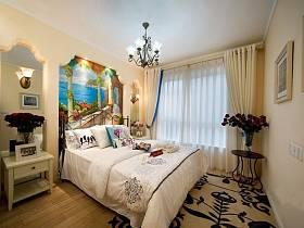 地中海地中海风格卧室效果图