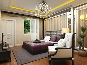 欧式卧室复式楼设计图