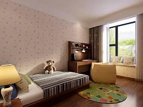 中式中式风格新中式儿童房设计方案