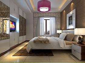 现代卧室电视柜设计方案