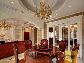 欧式古典欧式古典风格古典风格餐厅装修效果展示
