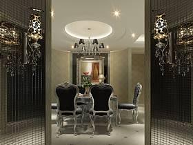 玄关玄关柜马赛克墙面设计案例展示