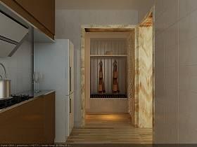 简约厨房复式楼设计案例