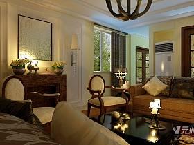 欧式客厅复式楼设计案例展示