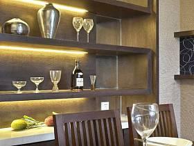 中式中式风格餐厅酒柜餐厅酒柜装修图